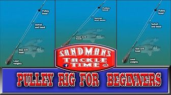 Surf fishing - Pulley rig - How to make - YouTube