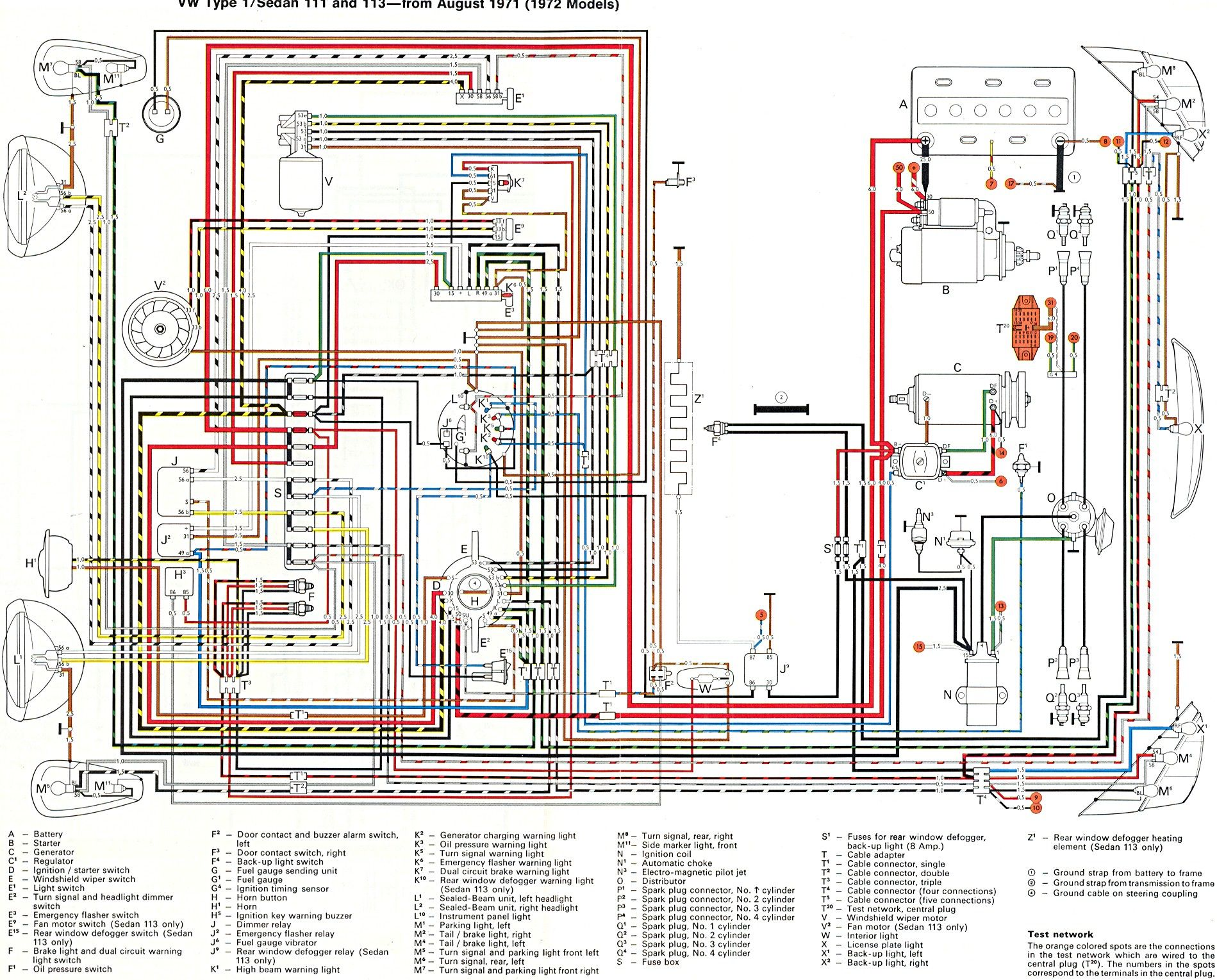 1974 Beetle Wiring Diagram 1974 Beetle Firing Order 1974 Beetle