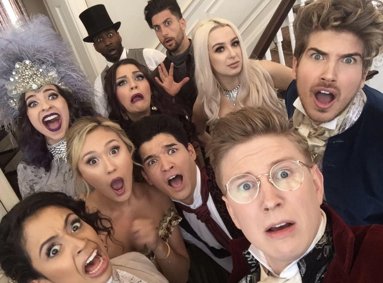 Yaaaaaas Escape The Night Season 2 Cast Escape The Night Joey Graceffa Tana Mongeau