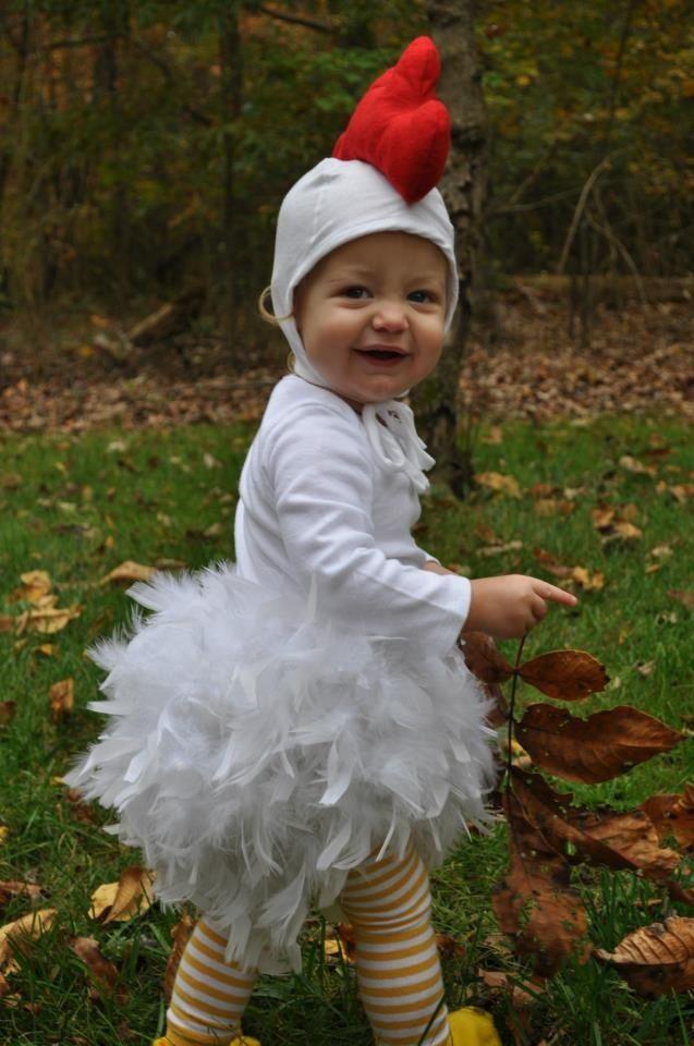 5f3f749f6 chicken costume - besser  weißer tutu mit einzelnen Federn
