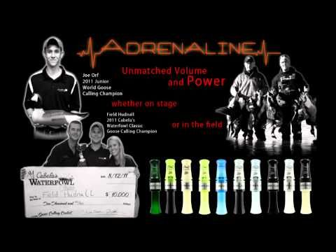 Adrenaline Goose Call operation and tone sample - YouTube