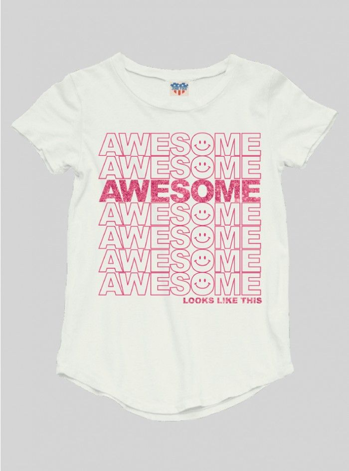 KIDS GIRLS AWESOME TEE