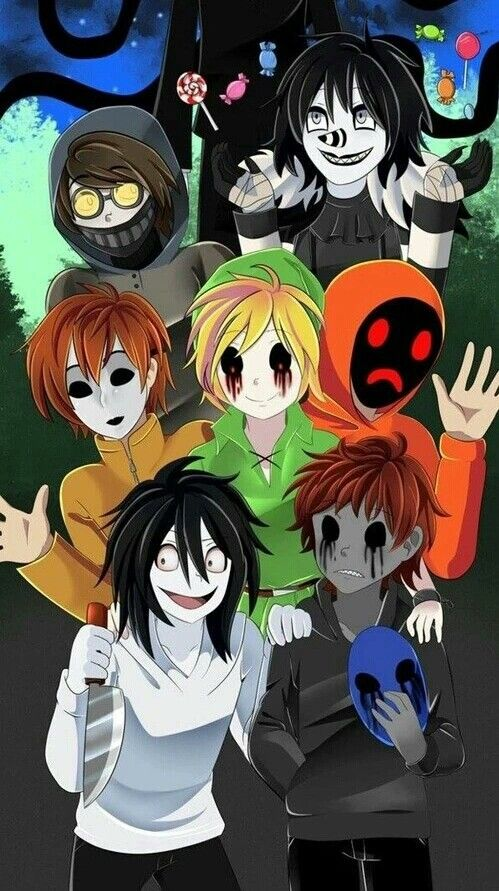 Happy Halloween Jeff The Killer Eyeless Jack Masky Ben Drowned