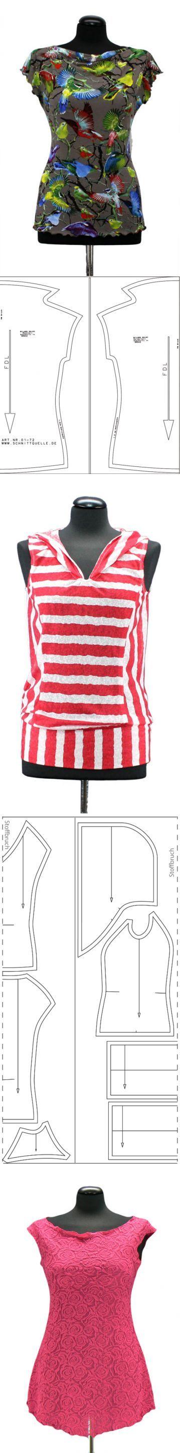 Модные блузки для лета...<3 Deniz <3