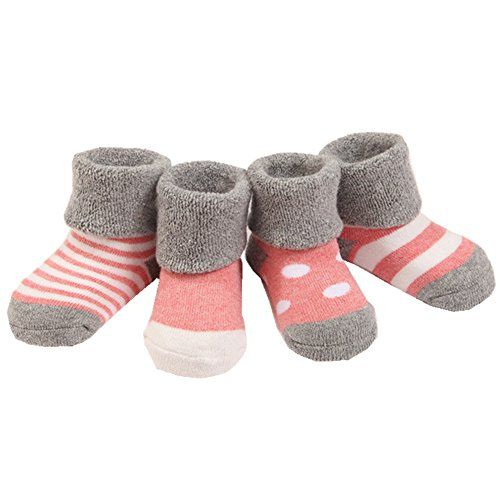 Gemini Fairy Newborn Fall And Winter Warm Terry Socks Gif Baby