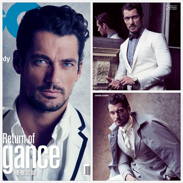 , Photographed by Chiun-Kai Shih, British Top model David Gandy lends his masculine charm to the pages of GQ Taiwan. Styled in New York City…, Hot Models Blog 2020, Hot Models Blog 2020