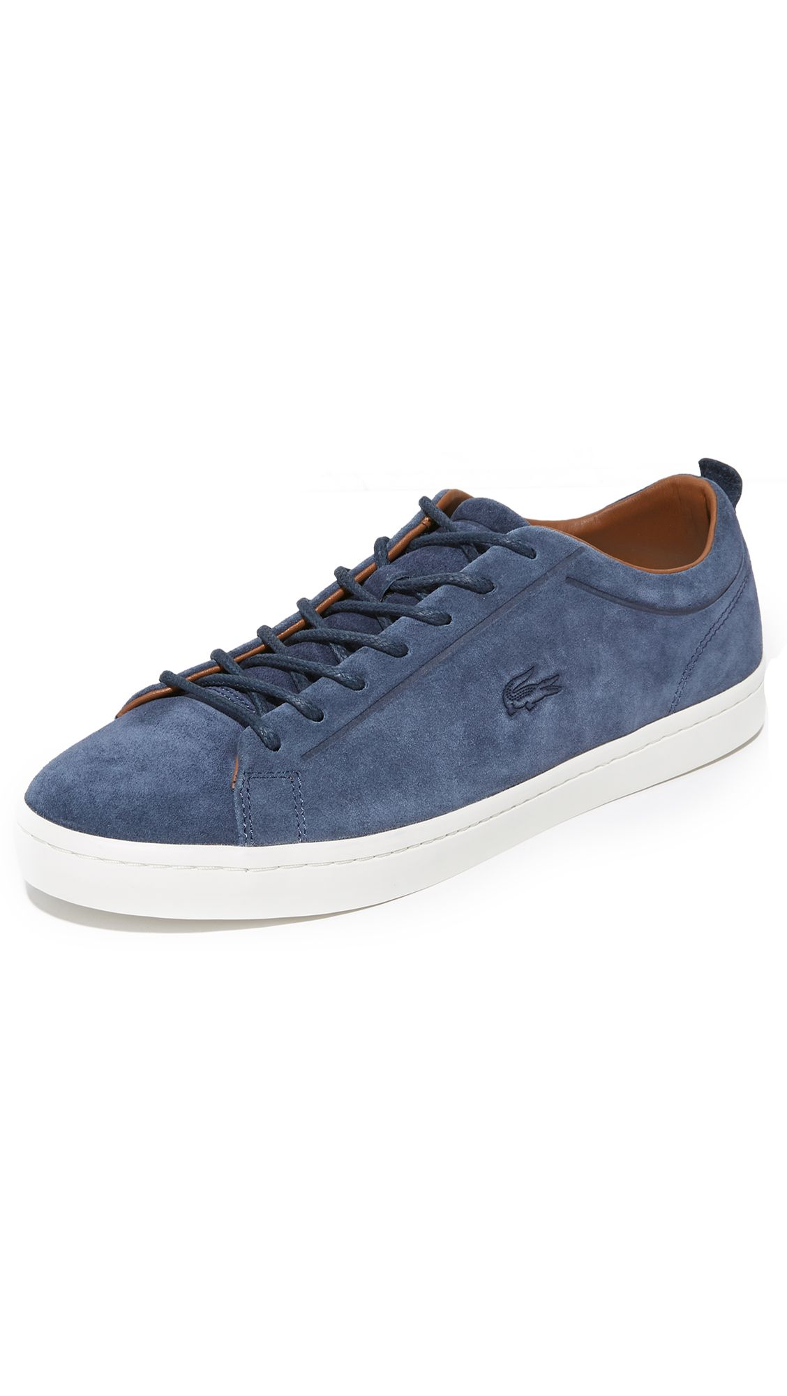 241a7d608 LACOSTE Straightset Suede Sneakers.  lacoste  shoes  sneakers ...