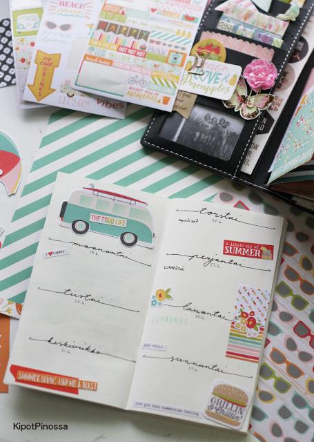 traveler's notebook, Prima Marketing, Prima Nomad's, bujo, bullet journal