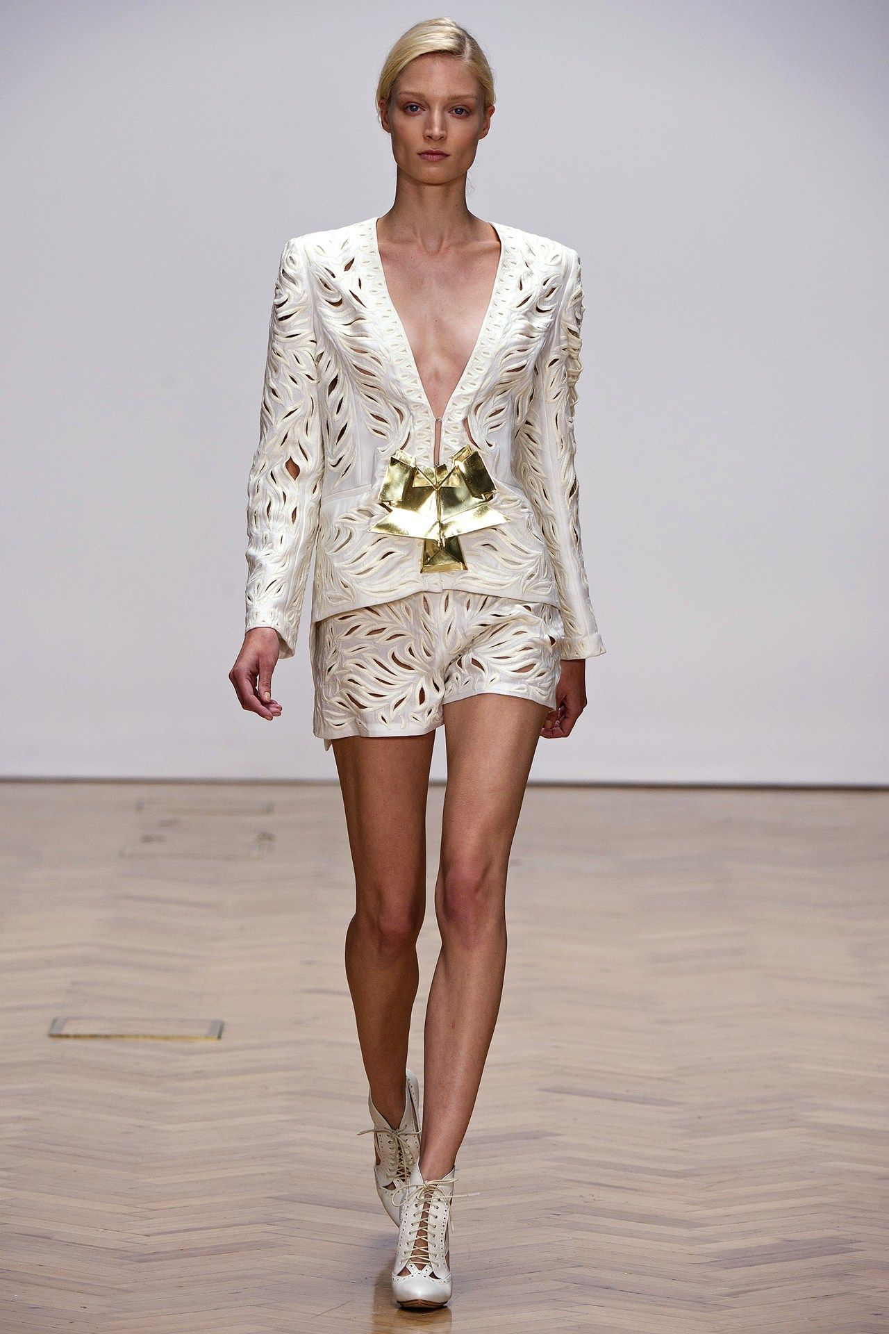 Loving these cutouts! Sass and Bide S/S 2013 #LFW