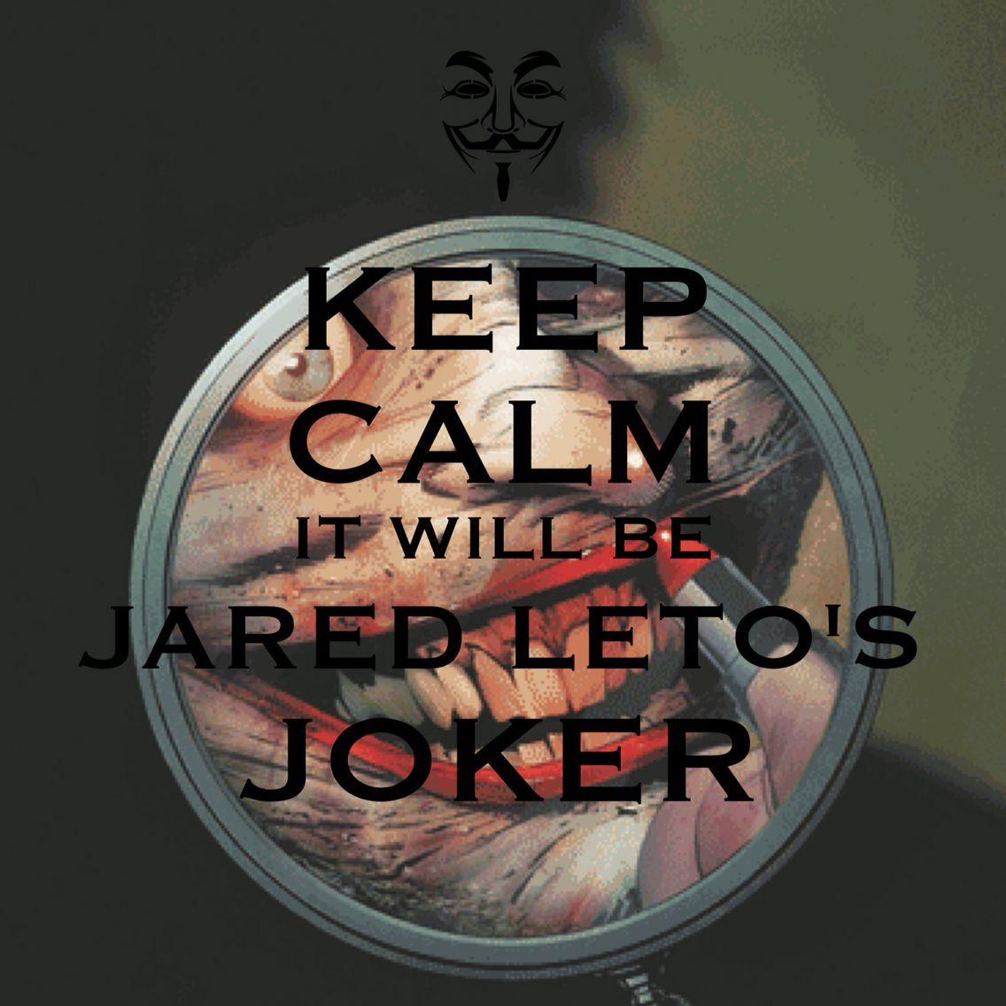 Joker  jaredleto