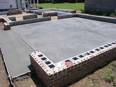 Residential Concrete Foundations Footers And Slab Repair And