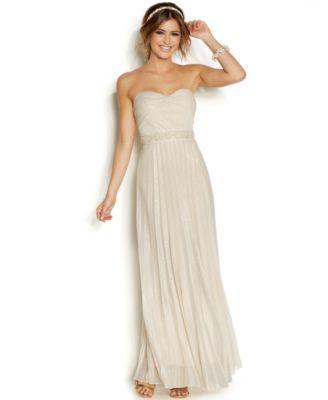 72f1d09bb7 Speechless Juniors  Strapless Beaded Princess Dress
