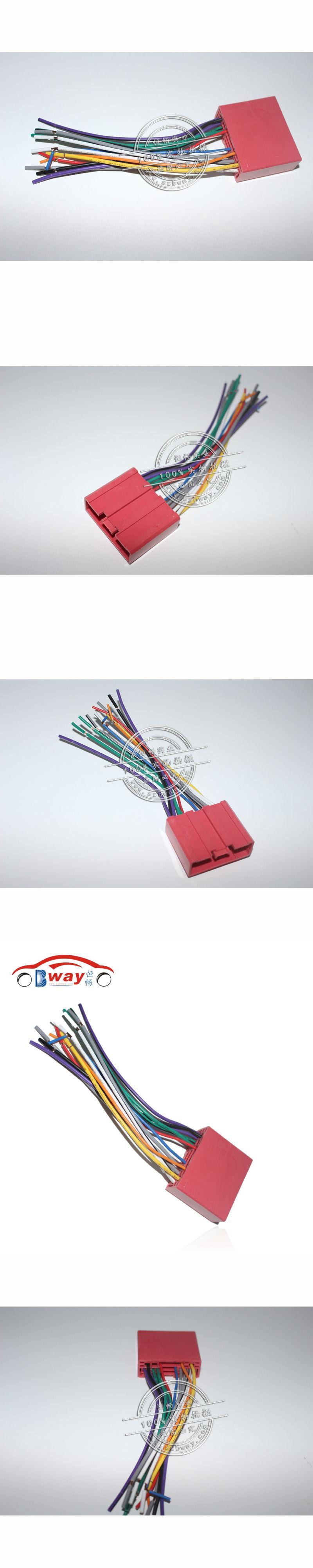 Car Radio Stereo Female Iso Plug Power Adapter Wiring Harness For Mazda 2 Mazda 3 Mazda 5 Mazda 6 Iso Harness Power Cable Power Cable Car Radio Power Adapter