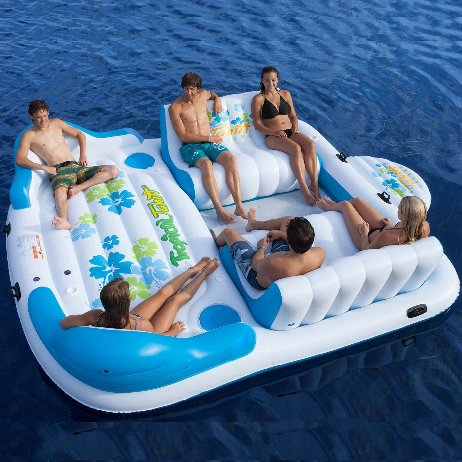 Tropical Tahiti Floating Island 6 Person Sam s Club