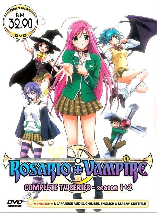 Details about DVD Japan Anime Rosario + Vampire TV Series