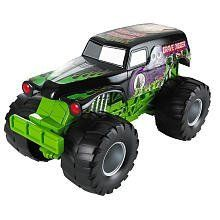 Hot Wheels Monster Jam Truck Grave Digger Sound Smashers by Mattel. $21.00. Roll Back Wheel for Sound. Press Front Wheel for more Sounds. Press the Bumper for even Sounds!. Hot Wheels Monster Jam Truck, little bigger than 1:24 scale truck, three ways to make sounds.
