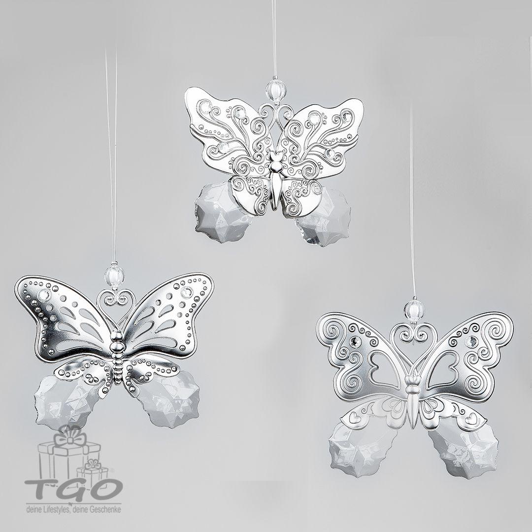 Formano Fensterdeko Dekohanger Schmetterling Aus Acryl Klar 10cm