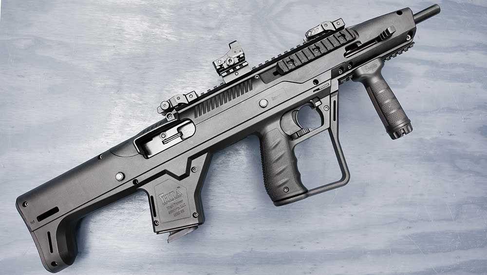 Pin on carbine