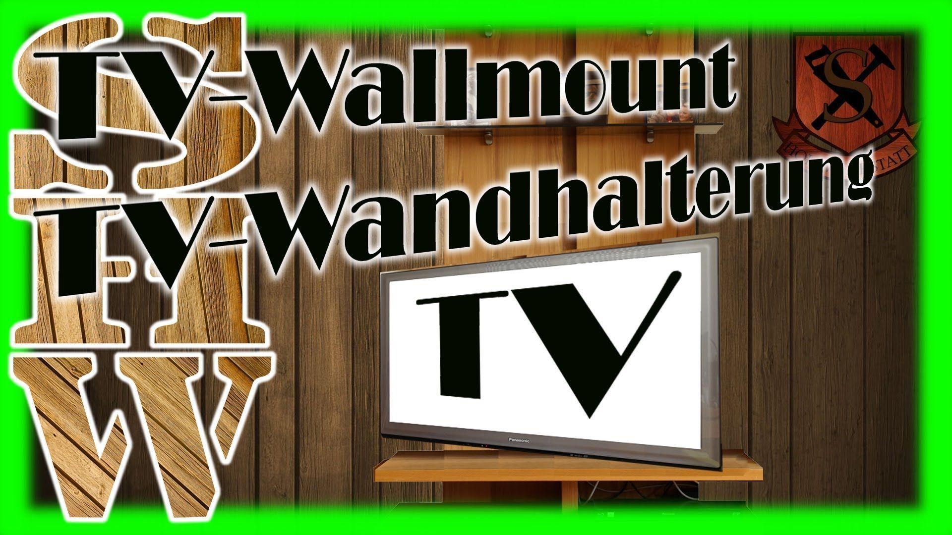 Diy cheap sturdy swivelling tv wallmount diyschwenkbare tv