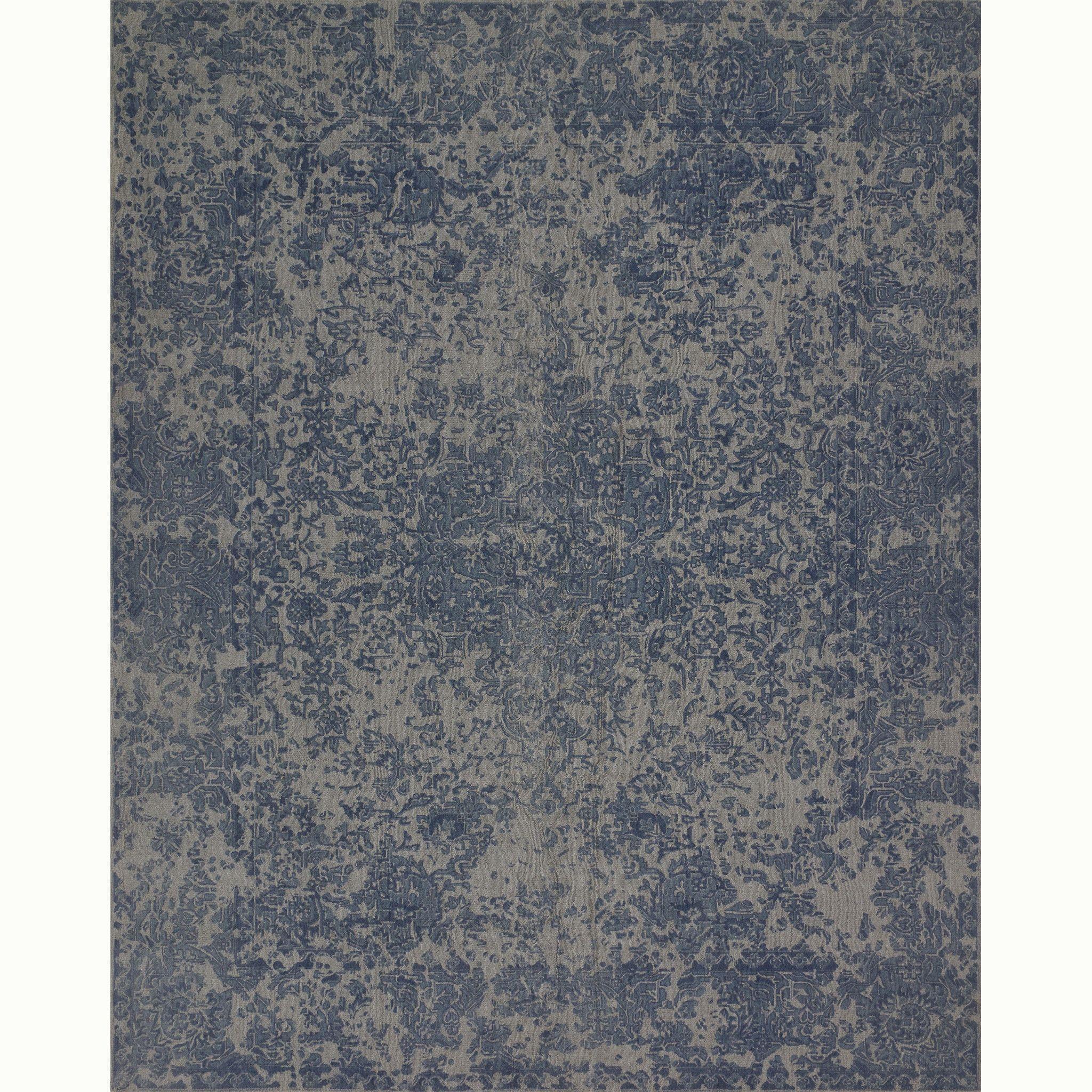 shop magnolia zoom home blue pier rose in rugs imports area rug ella