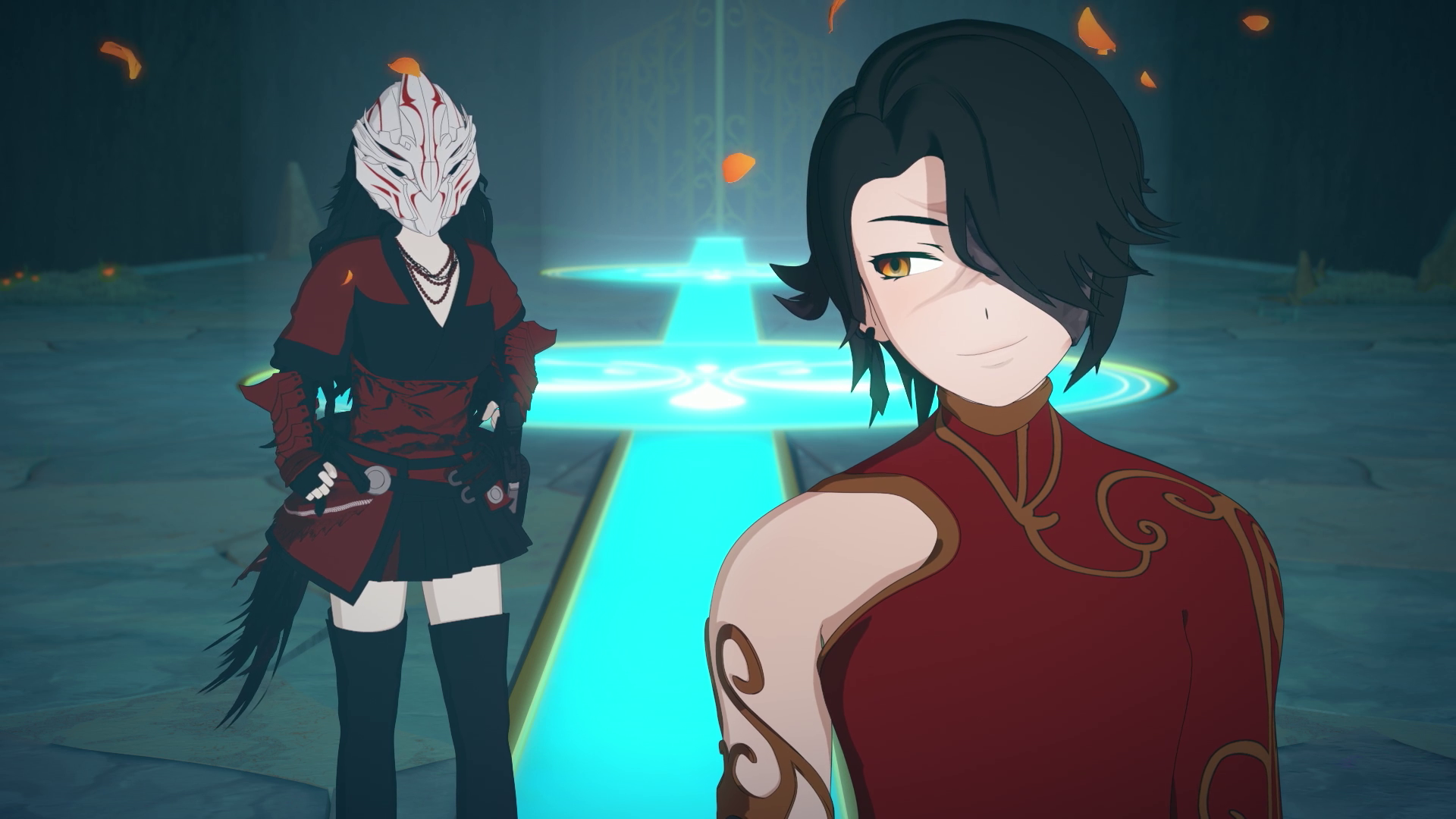 Cinder Fall Image Gallery Volume 5 Rwby Anime Rwby Fall Images Only while blake is frightened and trying to run away then, she's fighting here. cinder fall image gallery volume 5