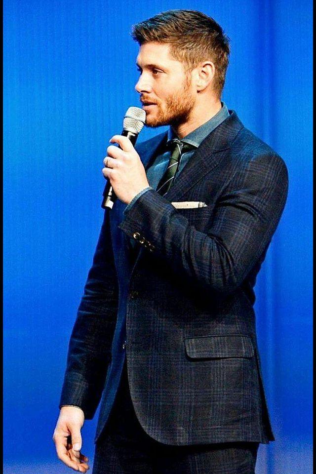 His scruff :p