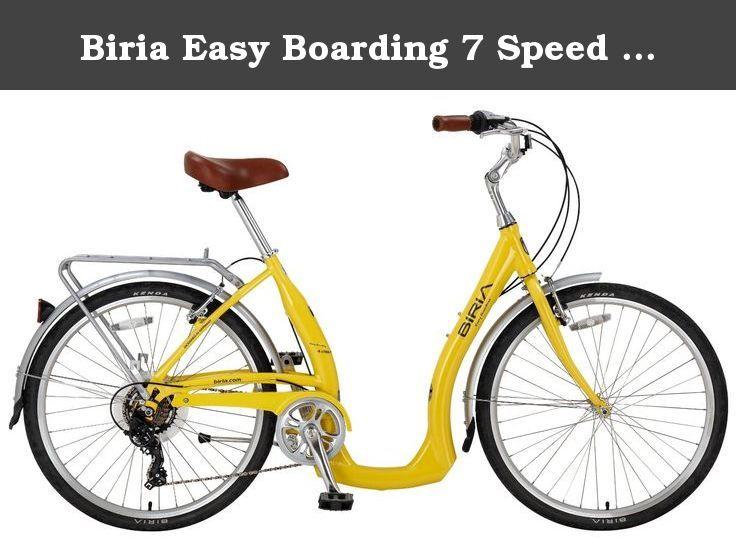 Biria Easy Boarding 7 Speed Step Through Cruiser Bicycle 15 5
