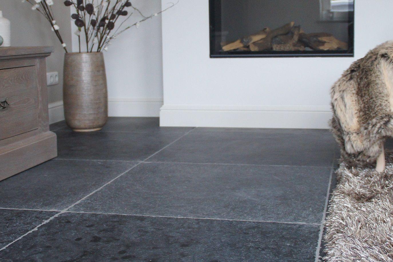Natuursteen vloertegels vietnamese hardsteen soft finish binnen