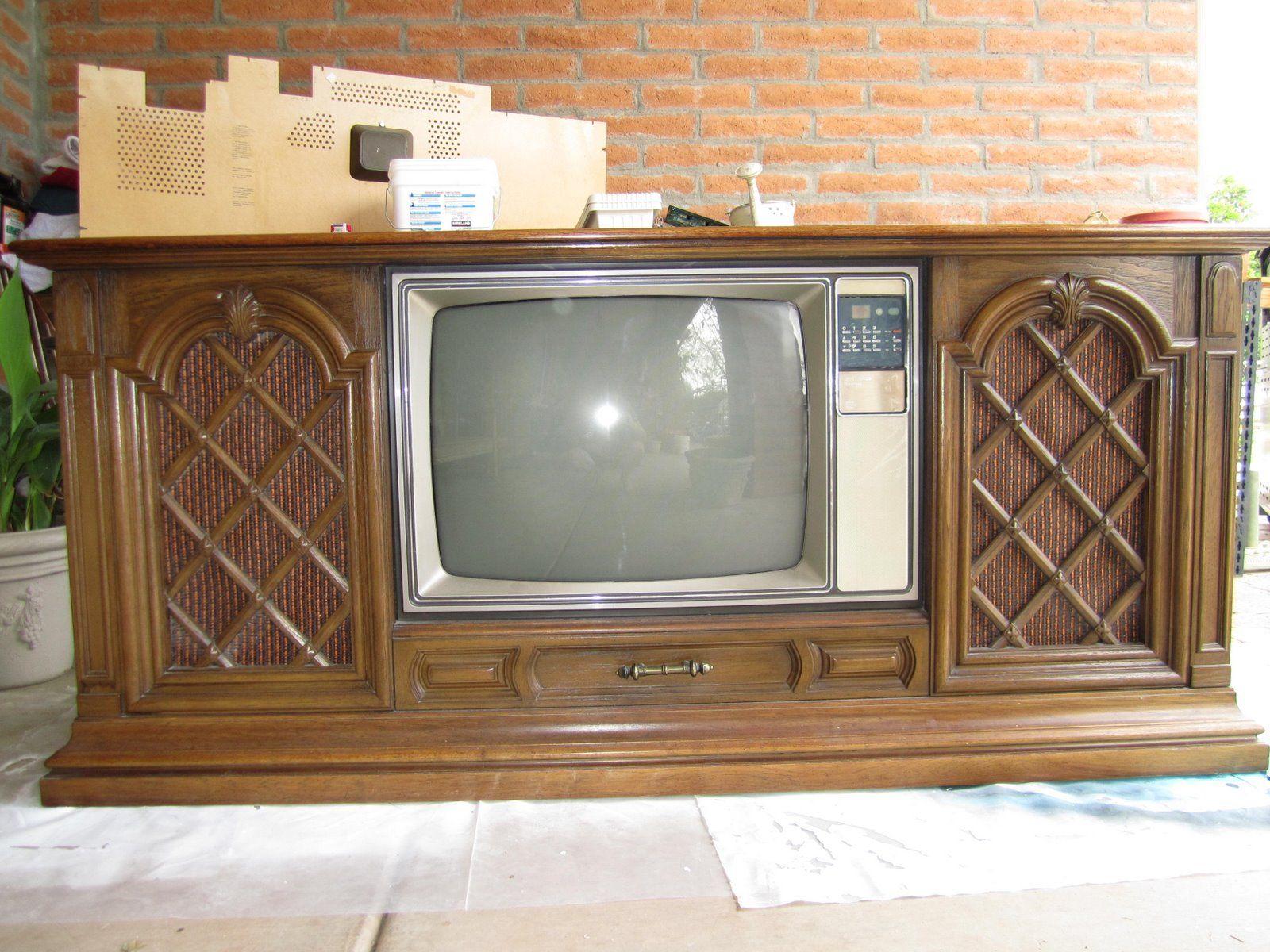Repurposed Junk Repurposed Junk Old Tv To Updated Flat