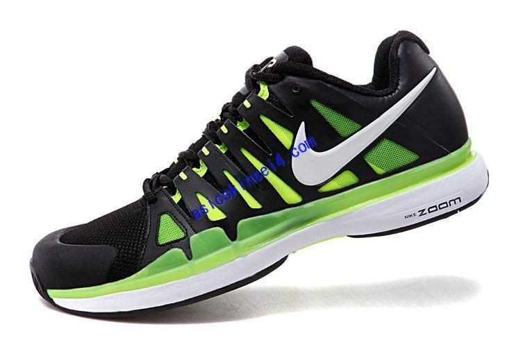 Tennis Shoes Nike Zoom Vapor 9 Tour SL Anthracite Black White Cyber 511237  010