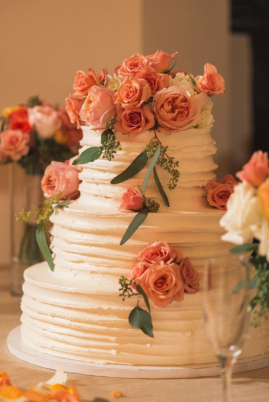 Elegant University of Tampa Wedding Wedding cake