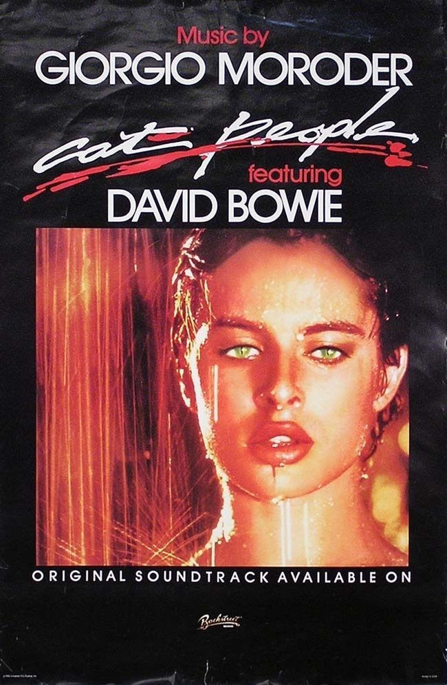 David Bowie 1982 Cat People Moroder Original Promo