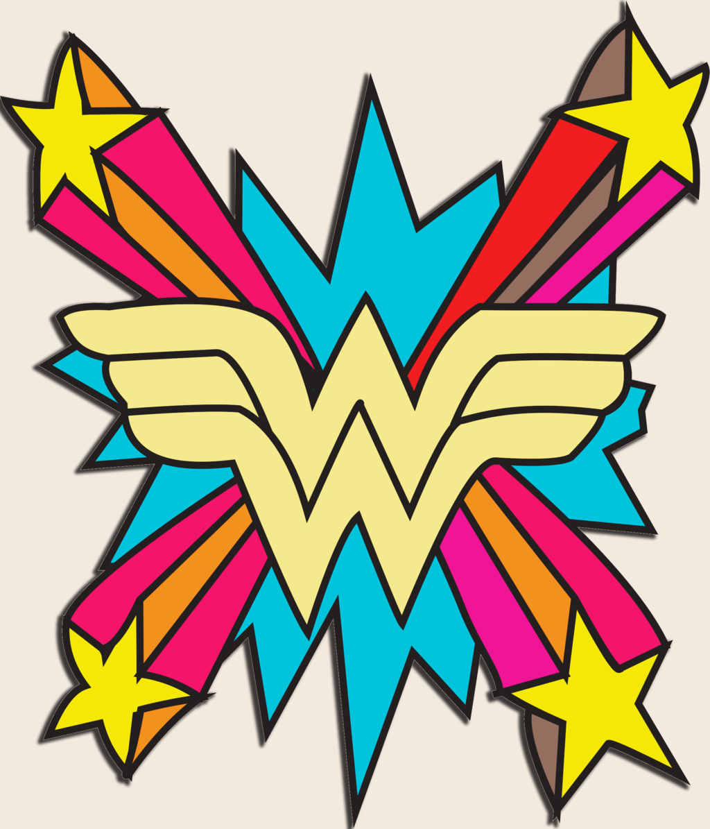 Wonder Woman Logo Plush Robe For the unstoppable woman