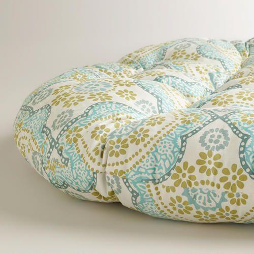 White Mosaic Papasan Chair Cushion World Market Papasan Chair