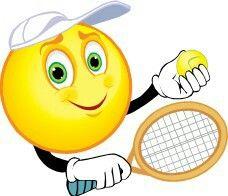 Afbeeldingsresultaat voor tennis emoticon.jpg