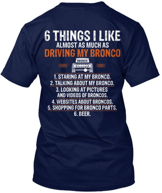 368542bee62 Ford Bronco Truck T-Shirt Mens