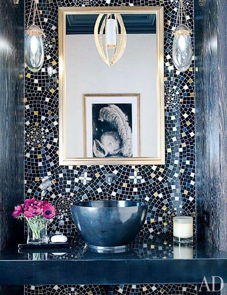 Bathroom tile in Monaco Blue — March 2013 Color of the Month - Monaco Blue - Pantone Inspired Color Design Decor Trends and Ideas