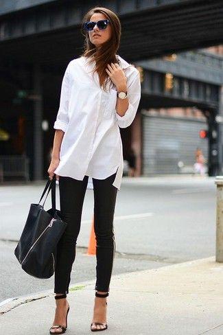 Comment porter une chemise de ville blanche en 2015 (299 tenues)   Mode  pour Mode pour femmes 239ec0b33e9