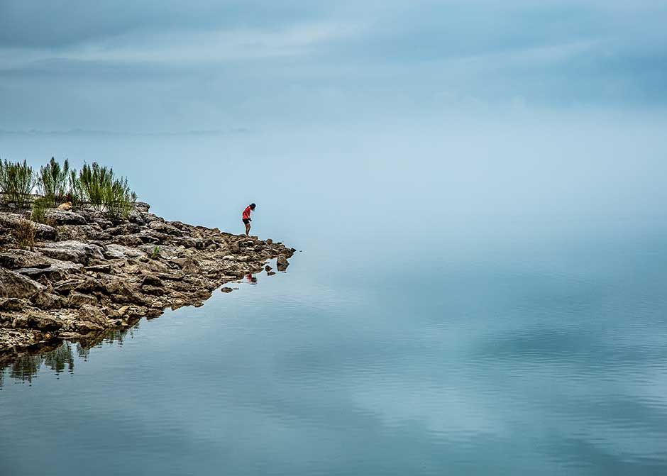 Standing On A Cliff Or Nature Conservation Nature Photo