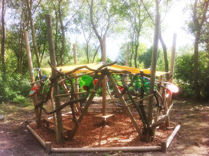 Outdoor Shaded Play Area Parques Infantiles Espacios De Juego