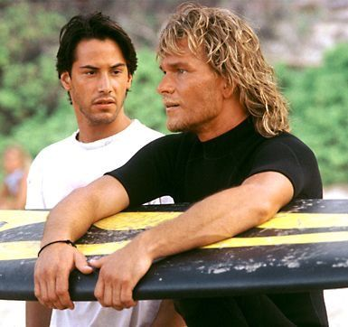 Point Break (1991) - Patrick Swayze and Keanu Reeves