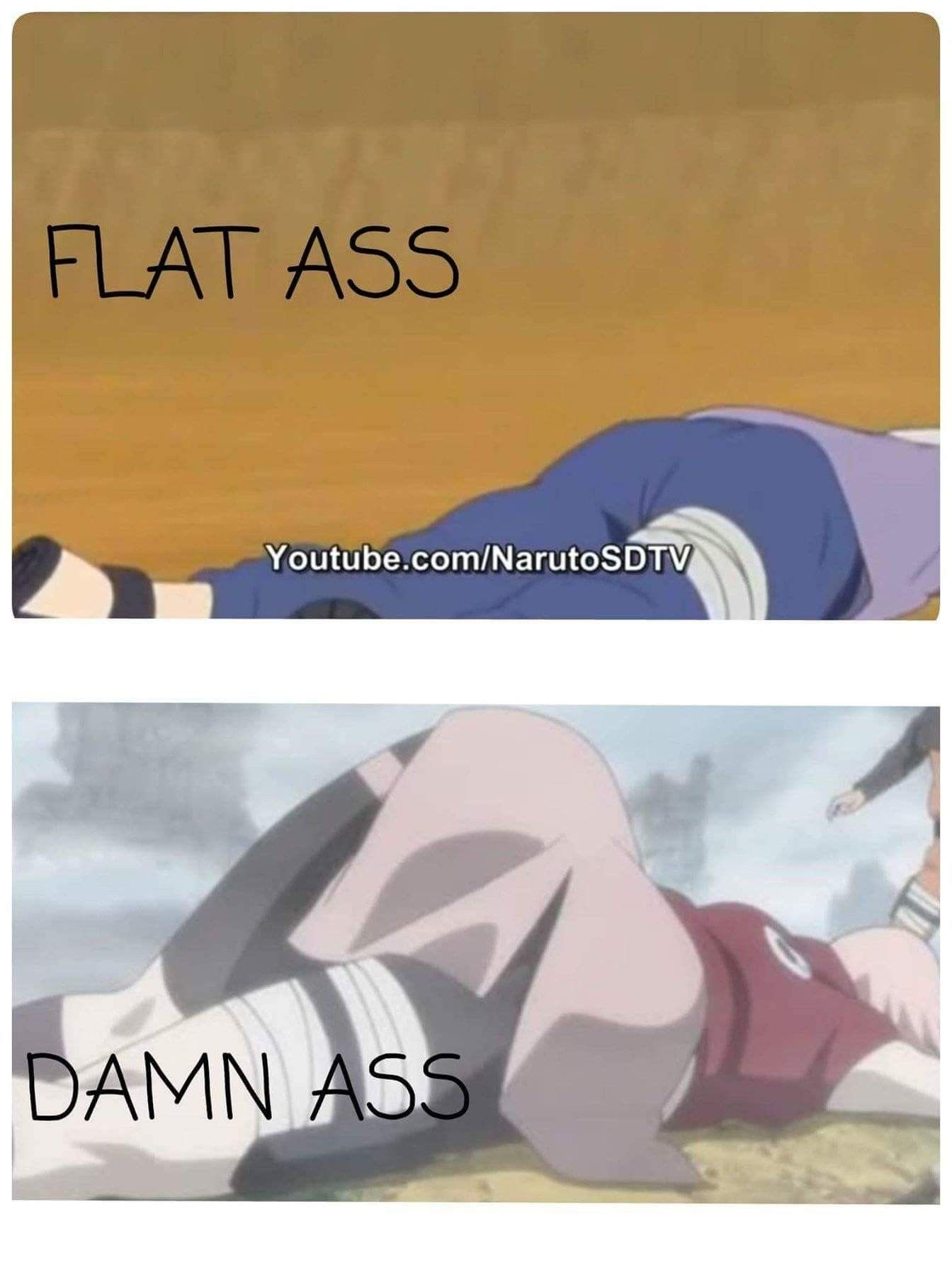 Haha Sakuras Ass Is Much Better Than Hinatas Ass Justice Was Made  E2 9d A4  E2 9d A4  E2 9d A4 Ef B8 8f