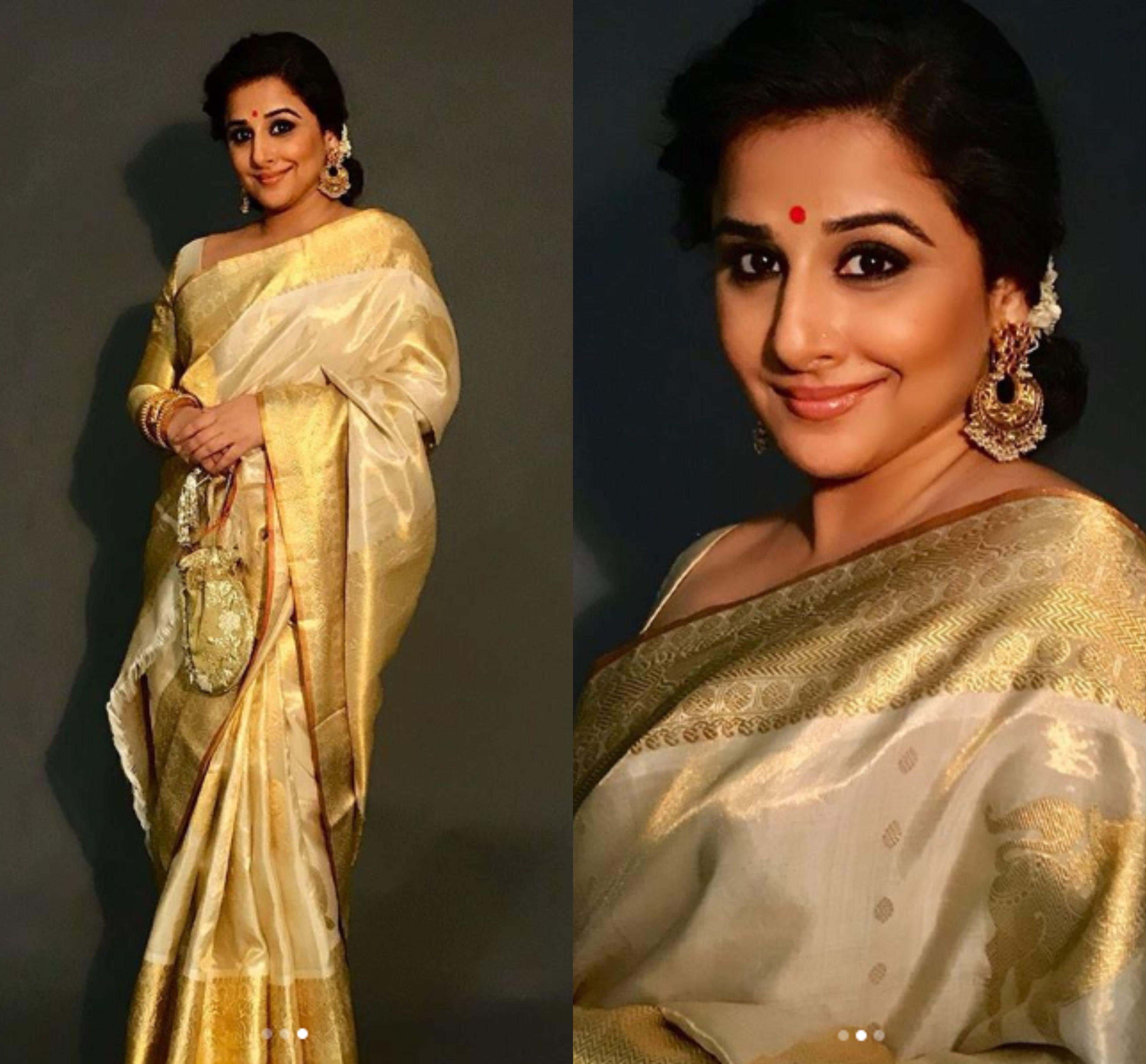 Vidya Balan Attended Sonam Kapoors And Anand Ahujas Wedding