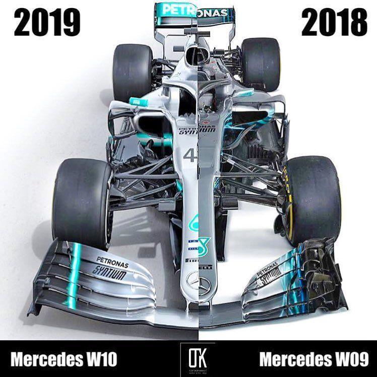 Formula 1 Racing Planet C On Instagram Mercedes Amg F1 Team 2018 Vs 2019 F1planet Mercedesamgf1 2018 2019 Me Mercedes Amg Mercedes Mercedes Petronas