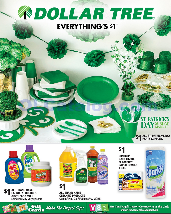 Dollar Tree Weekly Ad March 3 16 2019 View The Latest Flyer And Weekly Circular Ad For Dollar Tree Here Likewise You Can Find The Digital Coupons Grocery