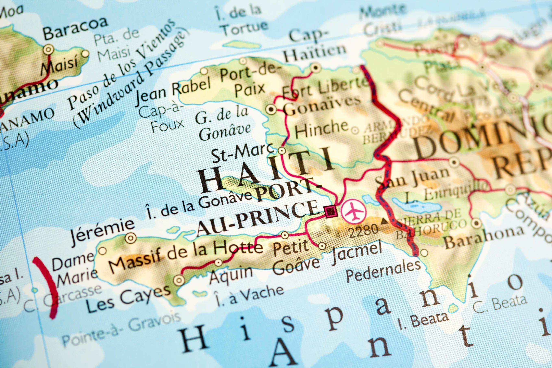 Map Haiti Amp The Dominican Republic