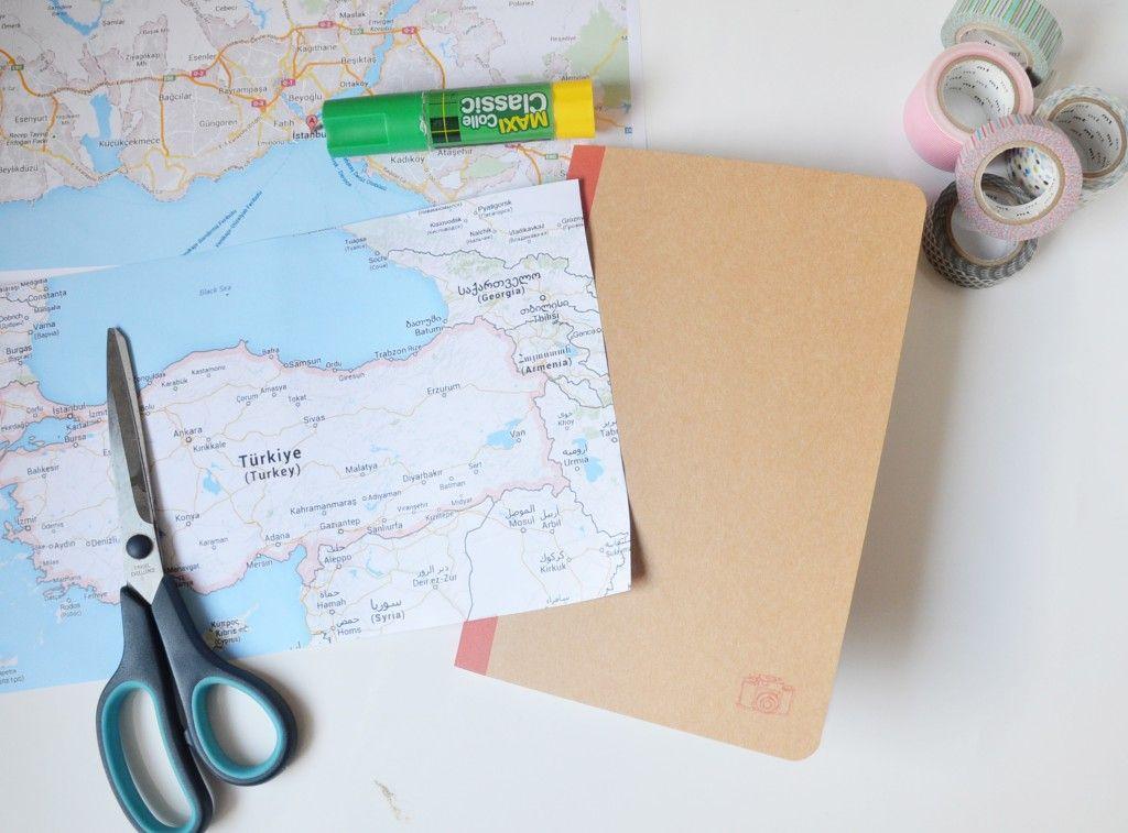 diy un carnet de voyage vintage voyage pinterest cadeau carnet et voyage. Black Bedroom Furniture Sets. Home Design Ideas
