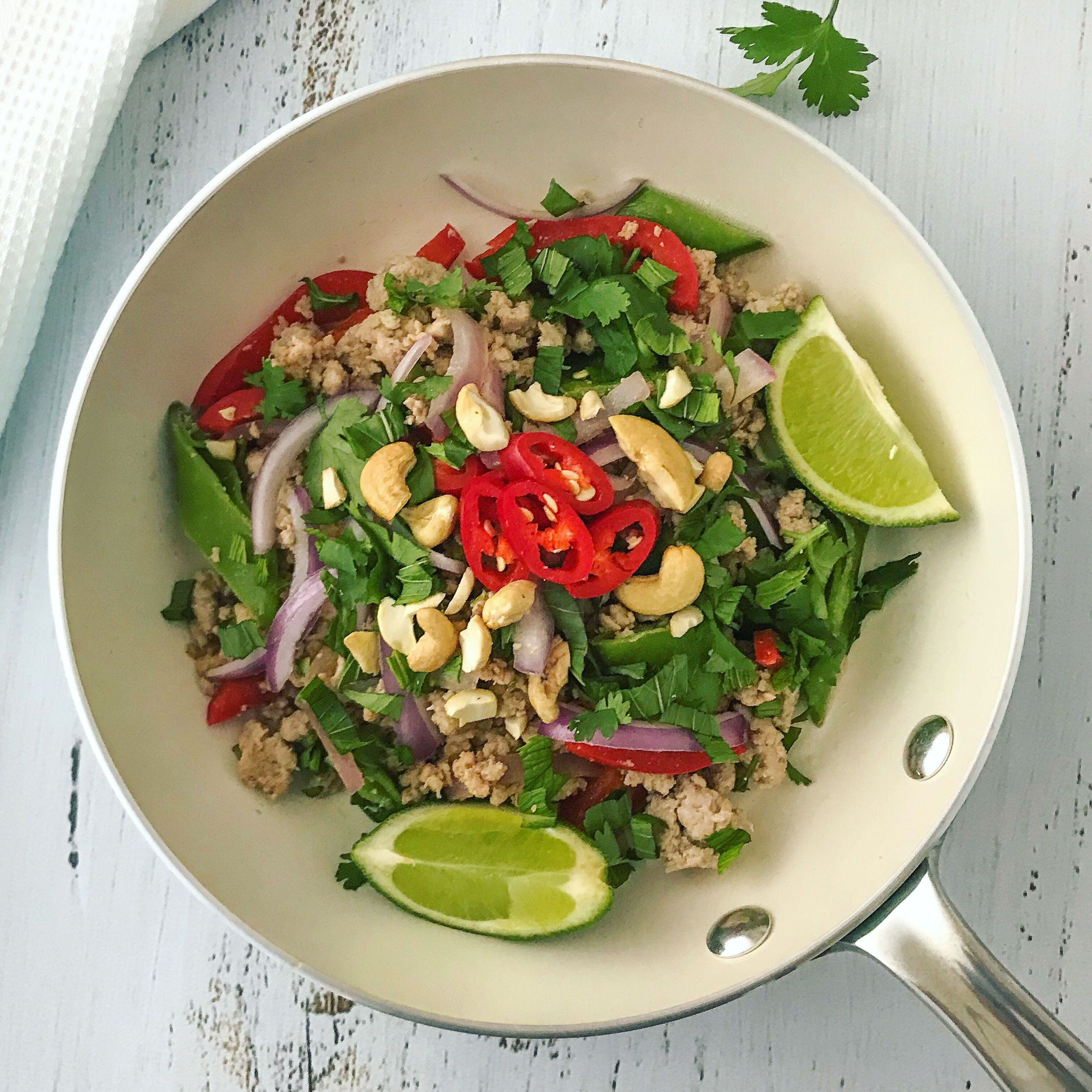 Thai Larb with Turkey Mince | Mince recipes healthy ...