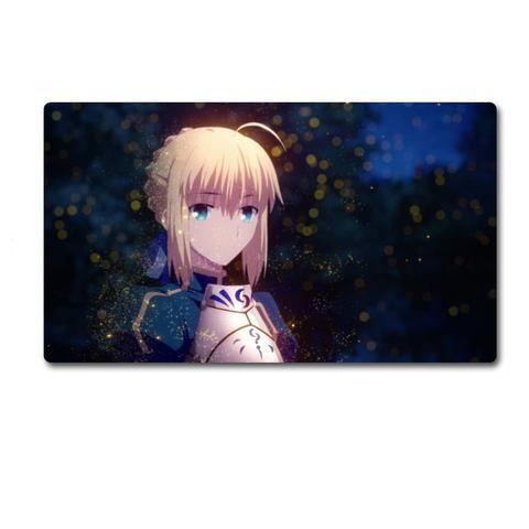 Fate Zero Saber Big Size Computer Mouse Pad Desk Mat Fate Stay Night Archer Rin
