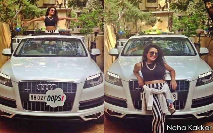 Image result for neha kakkar with her new car